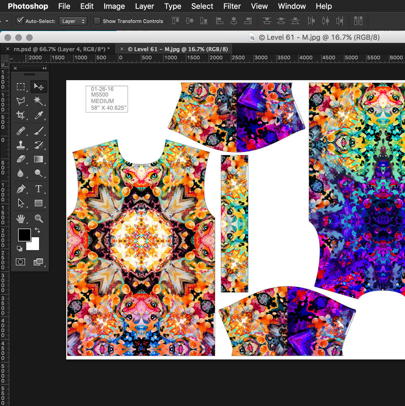 Sublimation shirt printing