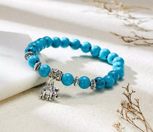 Load image into Gallery viewer, Chakra Bracelets with Silver Charms