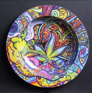 Trippy Aluminum Ashtray