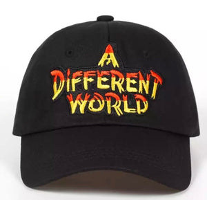 "Black ""A Different World""Dad Hat"