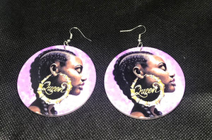 Black Queen Earrings👸🏾