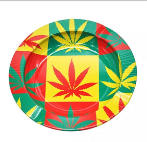 Red-Yellow-Green Ashtray