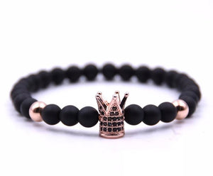 Crown Me Rose Gold Bracelet