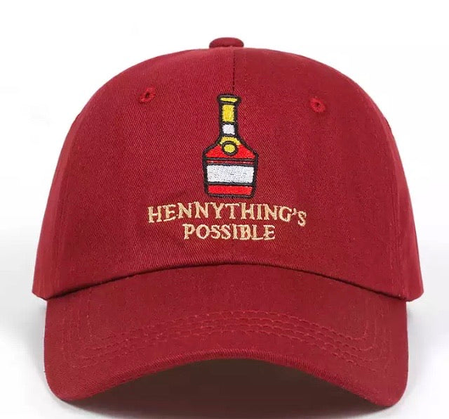 Wine Red Hennything's Possible Hat