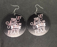 Load image into Gallery viewer, Let Your Faith Earrings