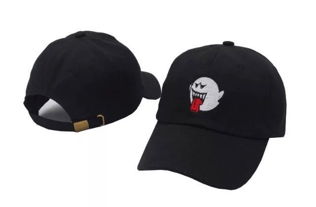 Mario Ghost Dad Hat