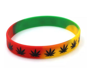 Red Green and Yellow Bracelet