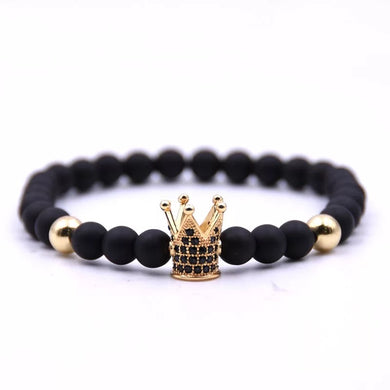 Crown Me Gold Bracelet