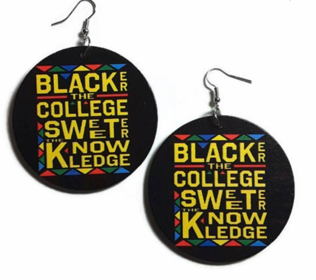 Blacker the College Sweeter the Knowledge