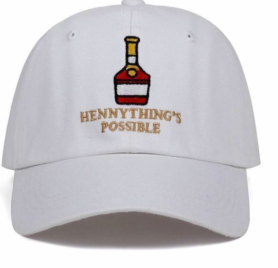 White Hennything's Possible Dad Hat