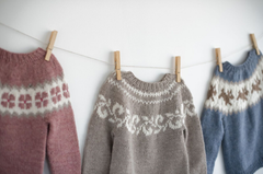 2180b06094c7 We are so excited to announce that we have many new patterns coming soon!  This adorable Fair Isle baby sweater will be available soon
