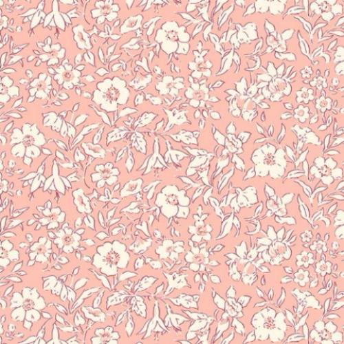 Liberty of London - The Cottage Garden - Morning Dew - Pale Pink (04775609/W)