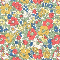 Liberty Fabrics - The Cottage Garden - Cosmos Meadow - Bright (04775611/Z)