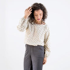 The Friday Paper Co. - The Raglan Blouse