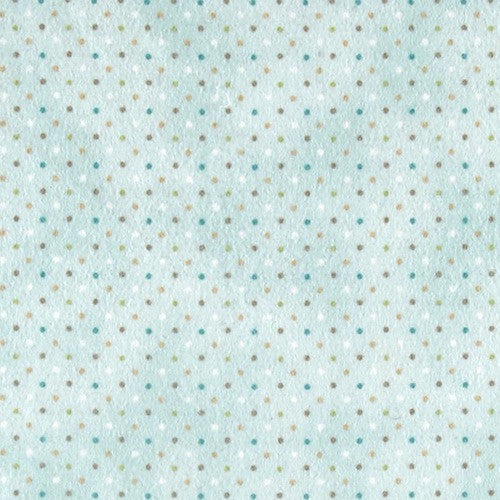 Guess How Much I Love You Brushed Cotton - Light Aqua Dot 2114 32