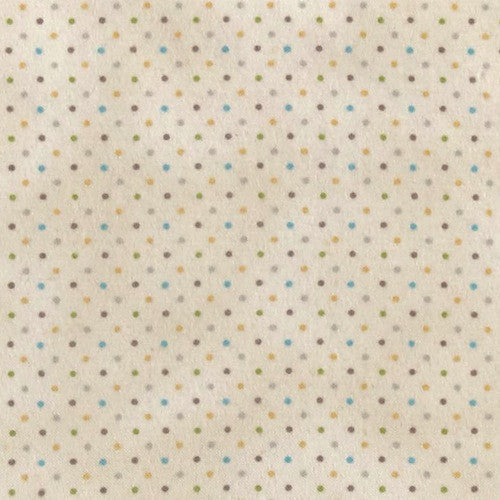 Guess How Much I Love You Brushed Cotton - Light Cream Dot Y2114 61