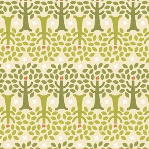 Forest Parade - 40108-3 (Apple Trees-Green