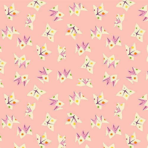 Sleeping Porch Cotton Lawn - Fortune Teller Lt Pink 42208 11