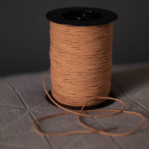 Merchant & Mills Recycled Cotton Elastic Tan
