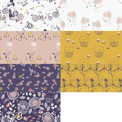 Autumn Rain Half Yard Bundle / 7 pcs