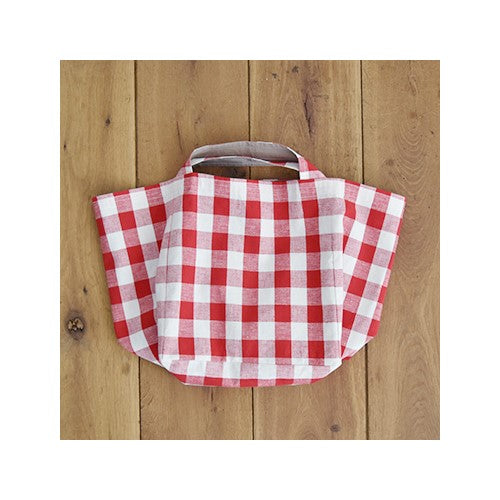Check & Stripe Block Check Bag