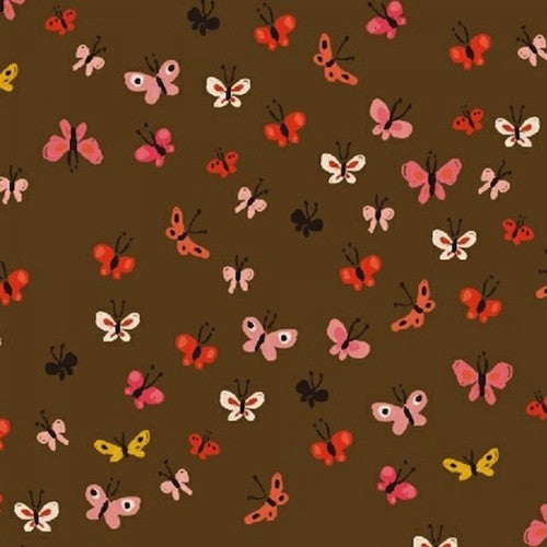 Tiger Lily Collection - Butterflies (brown)