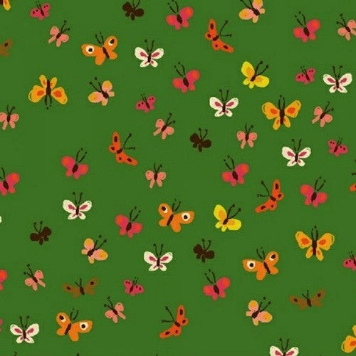 Tiger Lily Collection - Butterflies (green)