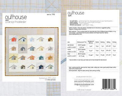 Carolyn Friedlander - Outhouse Quilt
