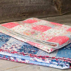 Liberty Print Baby Quilt Kit