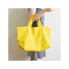 Check & Stripe Canvas Big Tote Bag