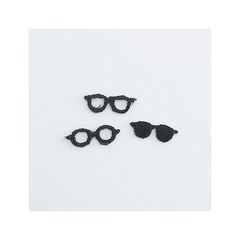 Check & Stripe Applique - Eyewear