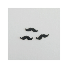 Check & Stripe Applique - Moustache
