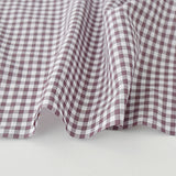 Check & Stripe Gingham Check - Azuki Milk