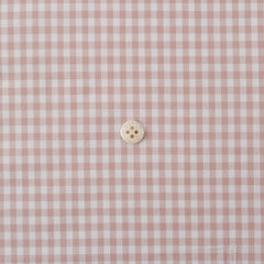 Check & Stripe Gingham Check - Grayish Pink