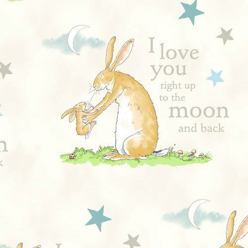 Guess How Much I Love You - Cream Bunny To The Moon Y2110 57