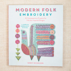 modern folk embroidery nancy nicholson