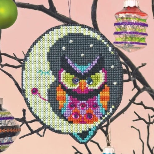 Satsuma Street Cross Stitch Kit - Night Owl