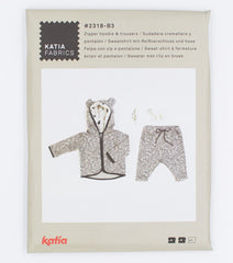 Katia Fabrics Zipper Hoodie & Trousers Patterns (2318-B3)