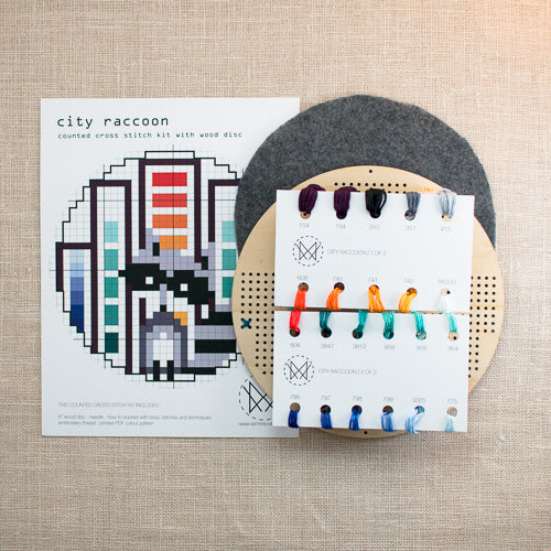Diana Watters Handmade - City Raccoon kit