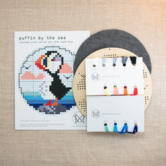 Diana Watters Handmade - Puffin by the Sea kit