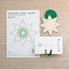 Diana Watters Handmade - Twinkle Star South Green