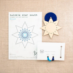 Diana Watters Handmade - Twinkle Star South Blue