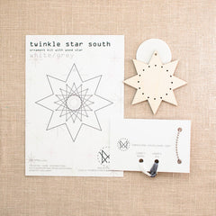 Diana Watters Handmade - Twinkle Star South White