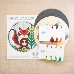 Diana Watters Handmade - Chipmunk in the Forest kit