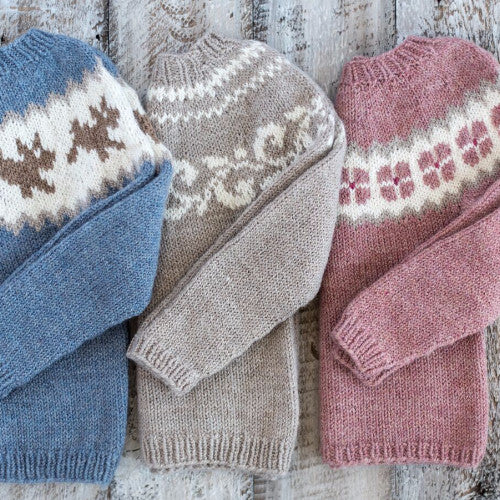 Three Yoke Baby Sweater