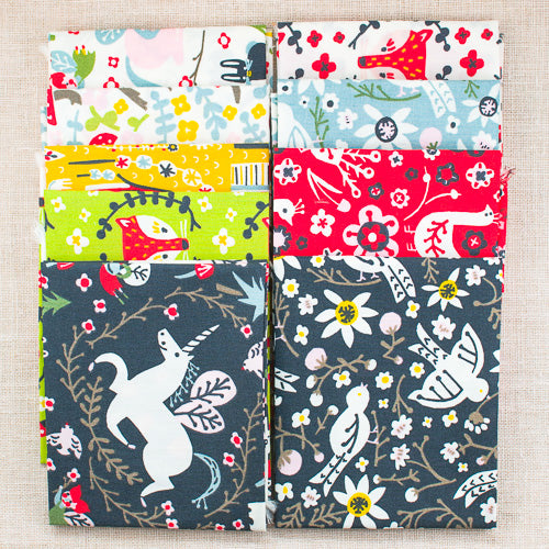 Folkland Fat Quarter Bundle / 9 pcs