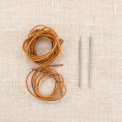 CocoKnits Leather Cord & Needle Stitch Holder Kit