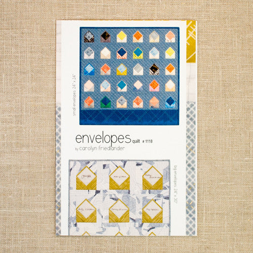 Carolyn Friedlander - Envelopes Quilt