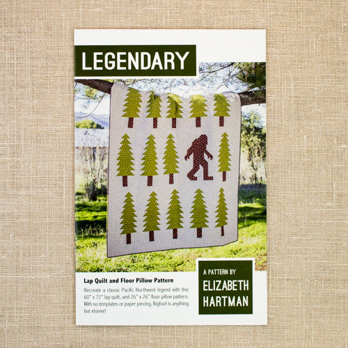 Elizabeth Hartman - Legendary Quilt & Pillow