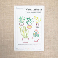 Stitcharama - Cactus Collection Iron-on transfer